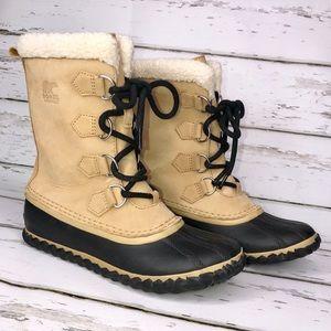 Sorel Caribou waterproof boots size 7.5 EUC